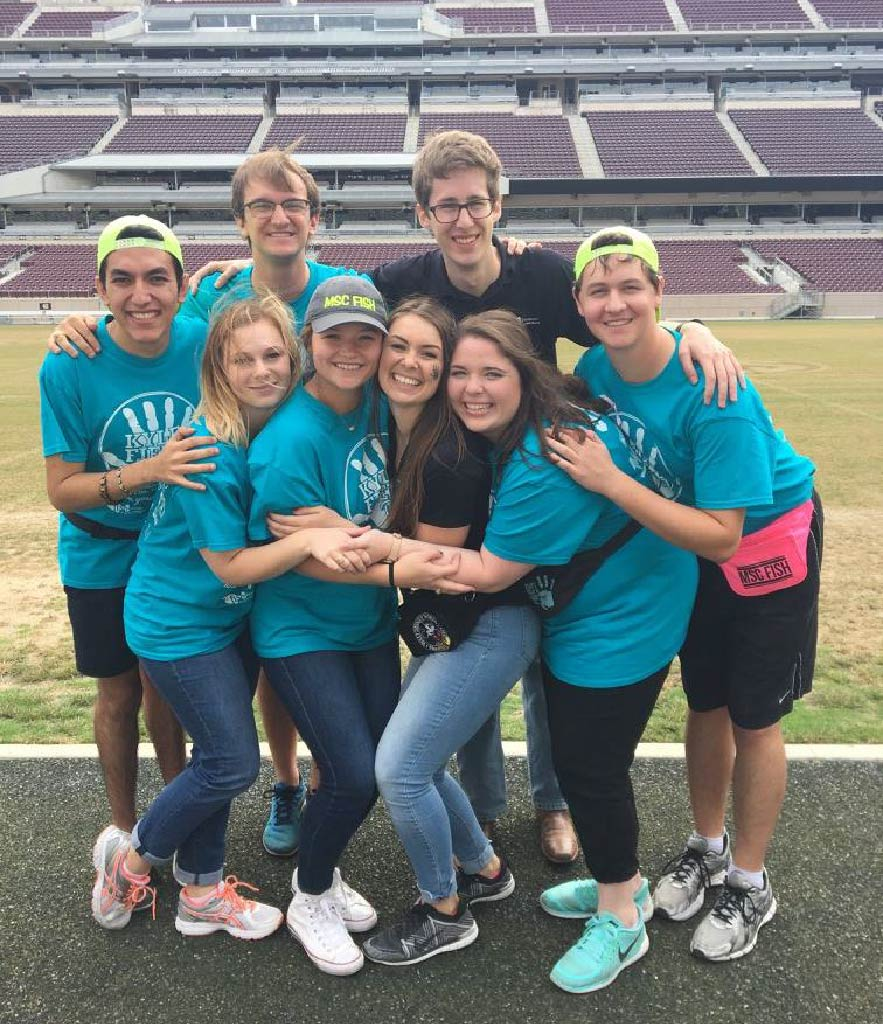 Kyle Field Day group photo.